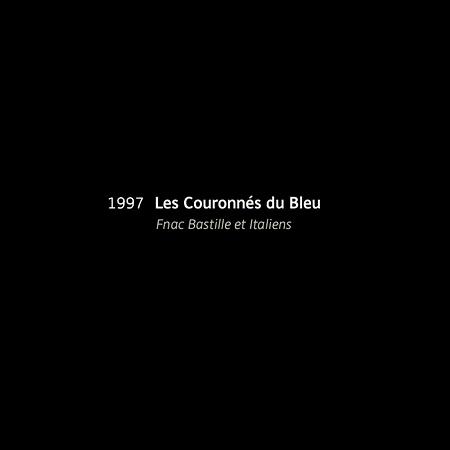 1997, Les Couronnes du Bleu